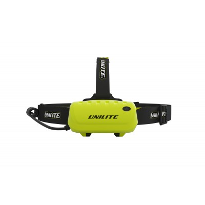 Unilite dual powered LED rechargeable headlight with spot & beam 450 Lumen