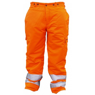 Hi-Vis Chainsaw Trousers (XL)