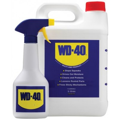 WD-40 Value Pack (5 Litre) with Spray Bottle