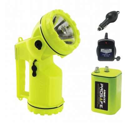 Unilite LED Rechargeable Lantern kit PS-L3RK 300 Lm Swivel headed with Optical beamaster lens