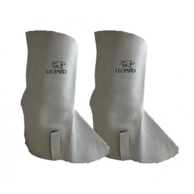 "16"" Leather Gaiters / Spats"